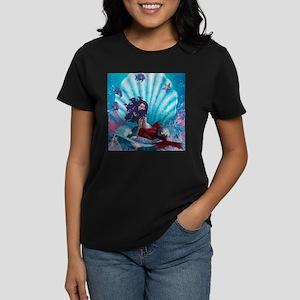 under water Women's Dark T-Shirt