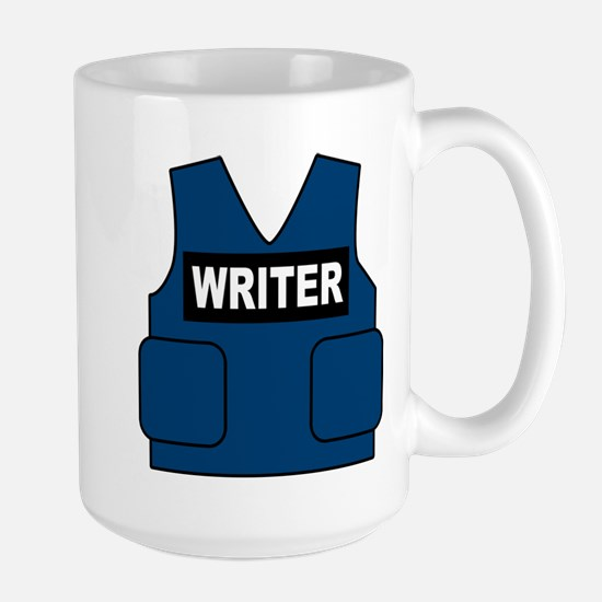 Castle Writer Vest Large Mug