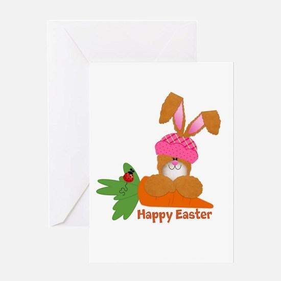 CUSTOMIZABLE: EASTER BUNNY Greeting Card