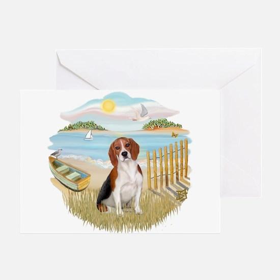 Rowboat - Beagle#7 Greeting Card