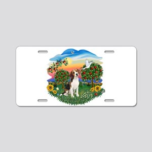 Bright Country-Beagle#1 Aluminum License Plate