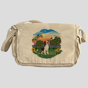 Bright Country-Beagle#1 Messenger Bag