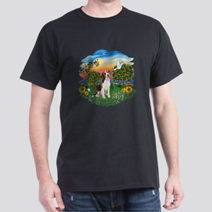 Bright Country-Beagle#1 Dark T-Shirt