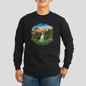Bright Country-Beagle#1 Long Sleeve Dark T-Shirt