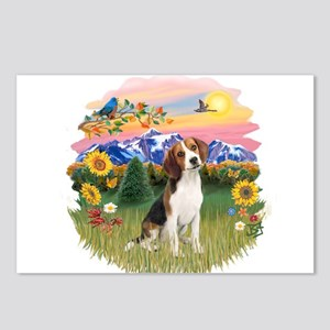 Mt Country-Beagle#1 Postcards (Package of 8)
