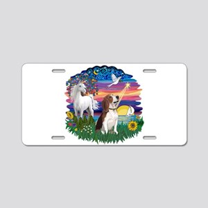 Magical Night Beagle#2B Aluminum License Plate