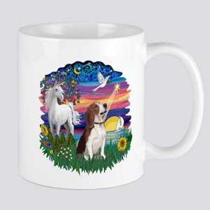 Magical Night Beagle#2B Mug