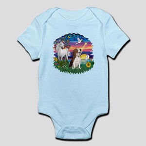 Magical Night Beagle#2B Infant Bodysuit
