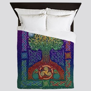 Celtic Tree of Life Queen Duvet Cover