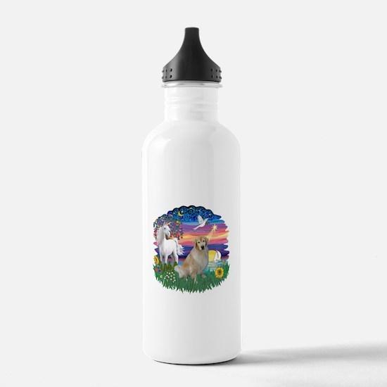 MagicalNight-Golden #10 Water Bottle