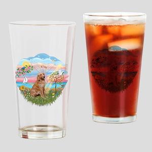 Angel Star / Golden #2 Drinking Glass