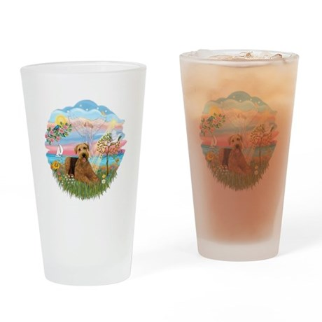 Angel Star - Airedale 5 Drinking Glass
