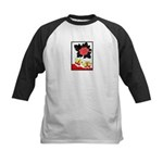 Hanafuda joy Kids Baseball Jersey