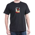 Hanafuda joy Black T-Shirt