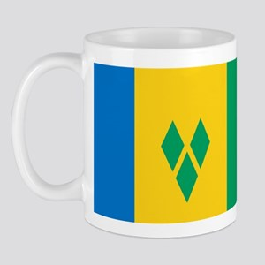 Flag of Saint Vincent Mug
