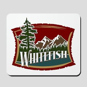 Whitefish Mountain Mousepad