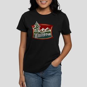Whitefish Mountain Women's Dark T-Shirt