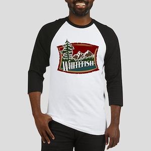Whitefish Mountain Baseball Jersey