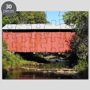 Sam Eckman Covered Bridge Puzzle