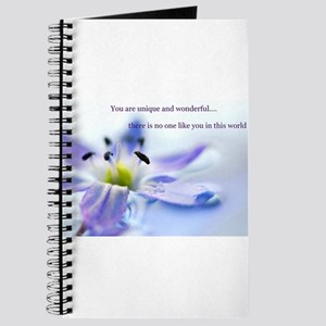 You Are Unique And Wonderful Journal