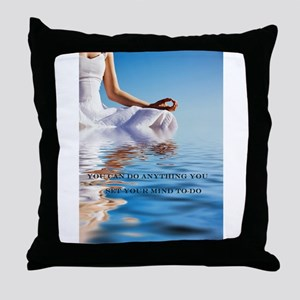 You Can Do Anything Affirmati Throw Pillow