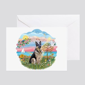 AngelStar-G Shepherd16 Greeting Card