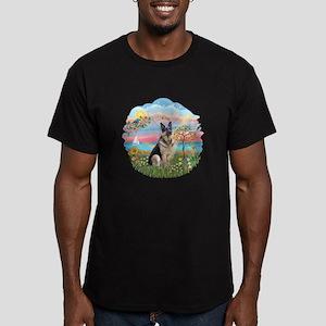 AngelStar-G Shepherd16 Men's Fitted T-Shirt (dark)
