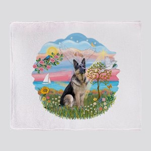 AngelStar-G Shepherd16 Throw Blanket