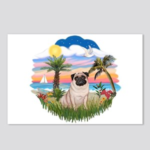 Palms - Pug #17 Postcards (Package of 8)