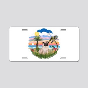 Palms - Pug #17 Aluminum License Plate