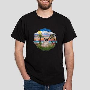 Palms - Pug #17 Dark T-Shirt