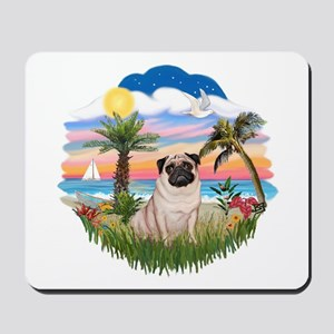 Palms - Pug #17 Mousepad