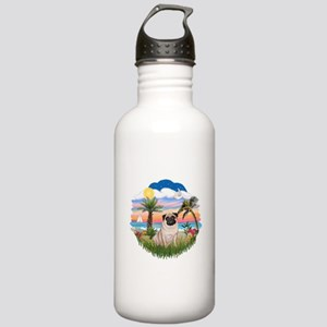 Palms - Pug #17 Stainless Water Bottle 1.0L