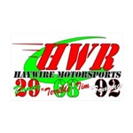 """HWR"" 35x21 Wall Decal"