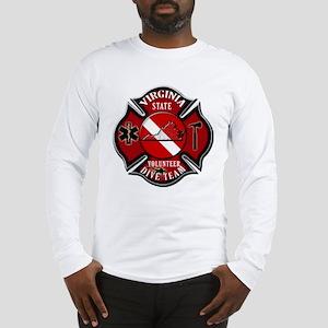 Virginia Rescue Diver Long Sleeve T-Shirt
