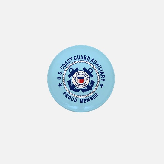 USCG Auxiliary Pride<BR> Mini Button