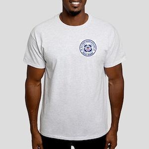 USCG Auxiliary Pride<BR> Grey T-Shirt 2