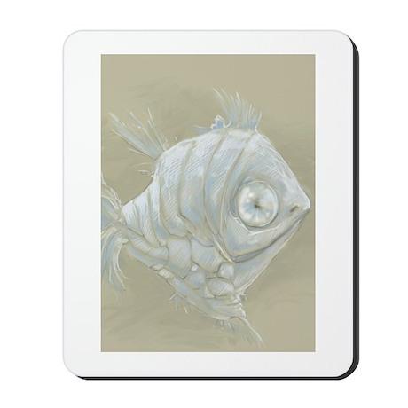Silver Hatchet Fish Mousepad