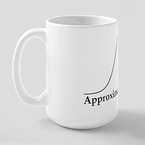 Approximately Normal Statistics Large Mug