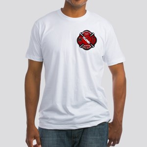 Michigan Rescue Diver Fitted T-Shirt