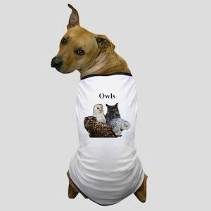 Owls Dog T-Shirt