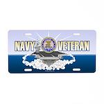 CVN-74 USS Stennis Aluminum License Plate