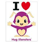 Hug Monsters® Small Poster