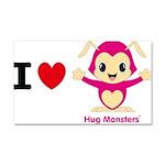 Hug Monsters® Car Magnet 20 x 12