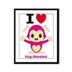 Hug Monsters® Framed Panel Print