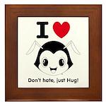 Hug Monsters® Framed Tile