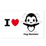 Hug Monsters® Postcards (Package of 8)