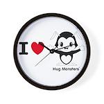 Hug Monsters® Wall Clock