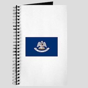 Louisiana Pelican State Flag Notebook