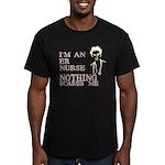 ER Nurse Men's Fitted T-Shirt (dark)